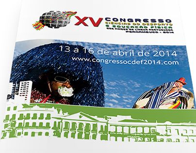 """Check out new work on my @Behance portfolio: """"Folder para Congresso"""" http://on.be.net/17Q0jW4"""
