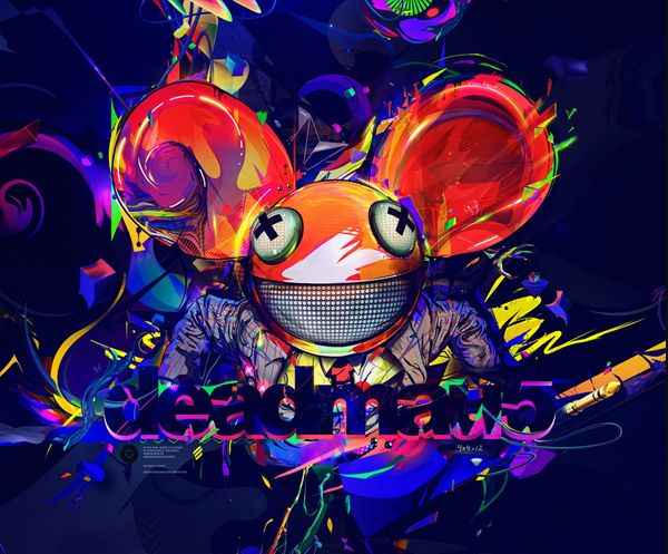 Awesome Deadmau5 Album Cover. Logos / Covers by Luis Miguel Torres, via Behance