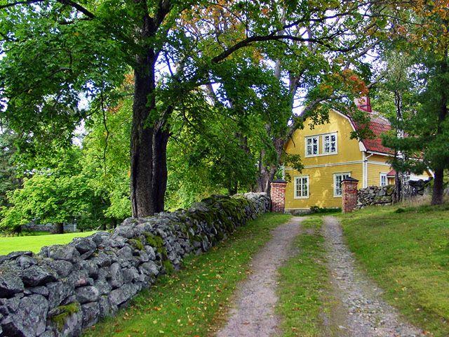 RKY  ι  Museovirasto, Tessvärin kartano, Finland. #hus #houses #suomi