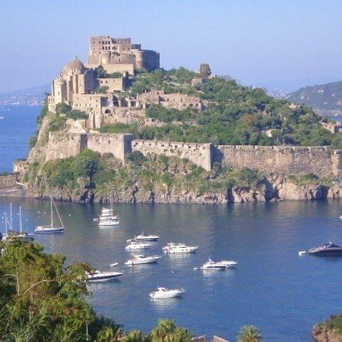 Castello Aragonese, Italy- 21 Fairytale Castles You Can Actually Stay At