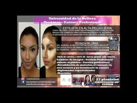 Academia  de belleza Tecámac - YouTube