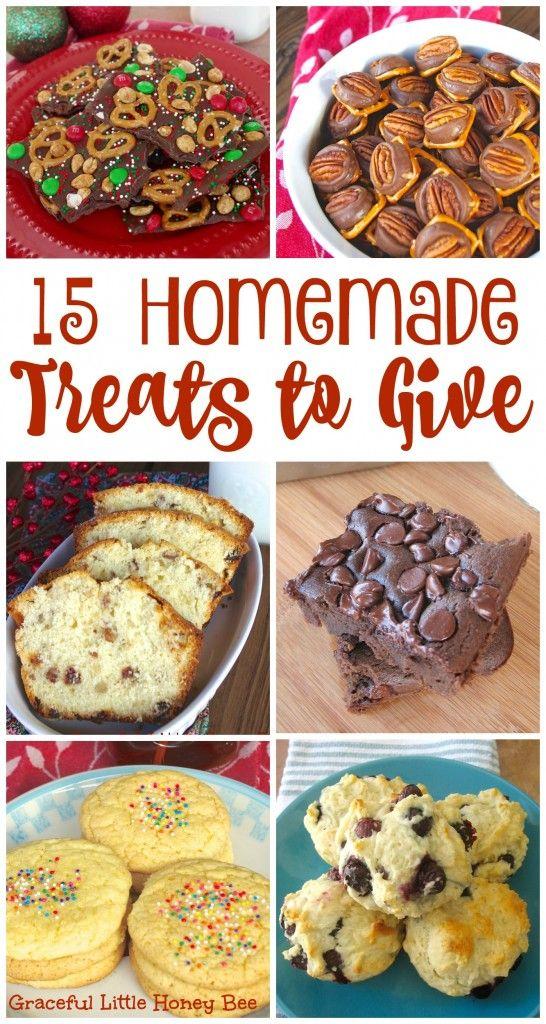 15 Homemade Christmas Treats to Give