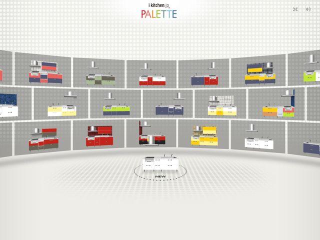 ikitchen.jp PALETTEのWebデザイン http://www.ikitchen.jp/palette/main.html