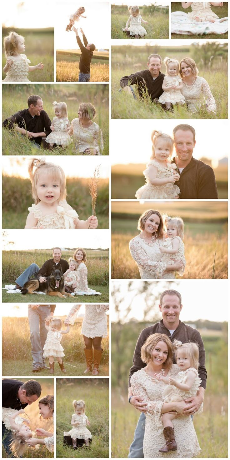 family and toddler summer photography shoot with neutral colors.