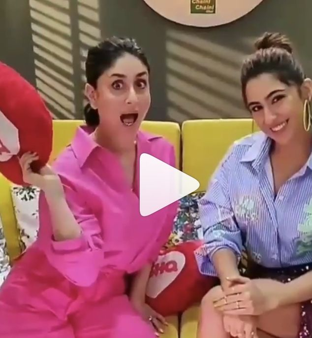 Kareena Kapoor Bonds With Sara Ali Khan At Her Radio Show Hungryboo Free Movies Online What Women Want Sara Ali Khan