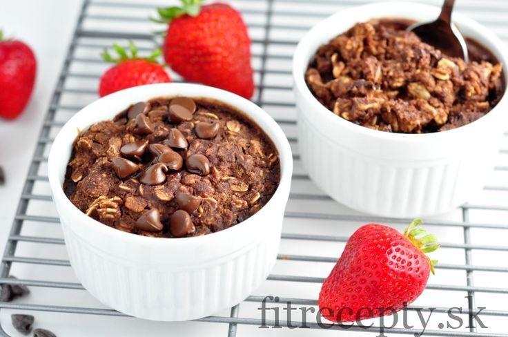 Pečená brownie kaša - FitRecepty
