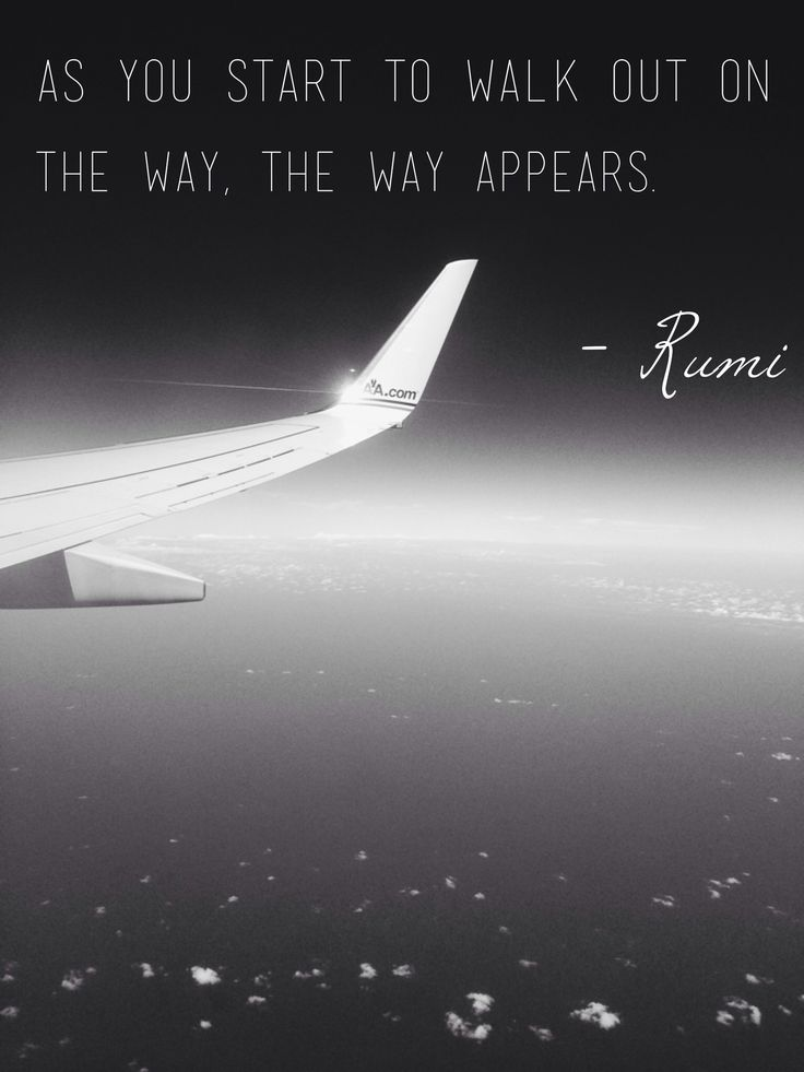 Rumi. The way.
