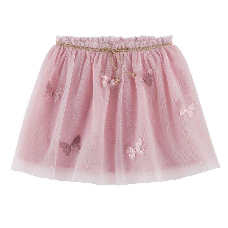 Girls 4-12 SONOMA Goods For Life™ Embellished Tutu Skort, Size: 6X, Brt Pink