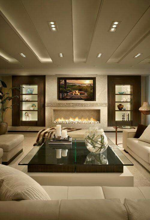 This fireplace tho'!
