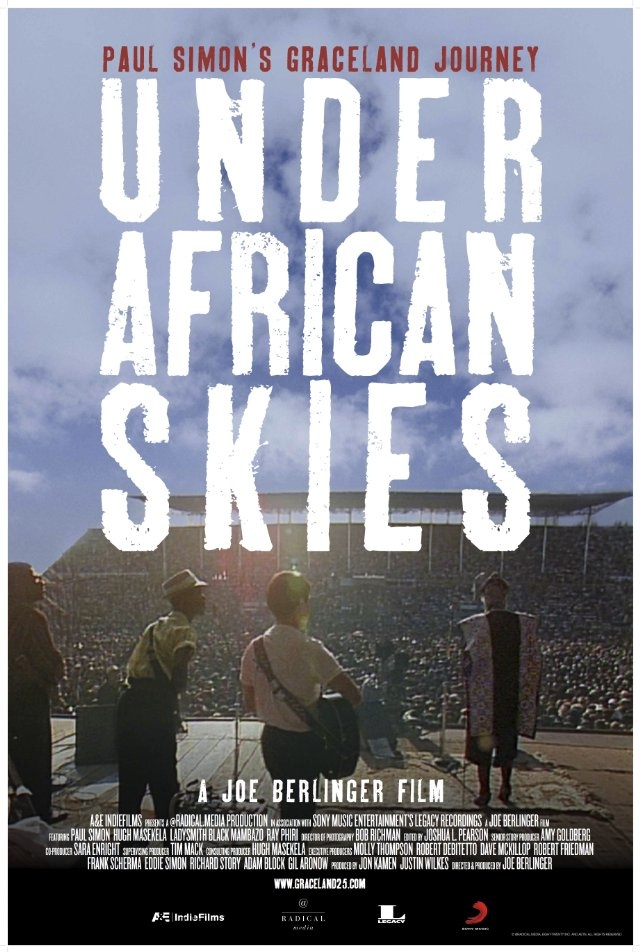 Film Recommendation: Under African Skies. Documentary commemorating Paul Simon's 25th anniversary of his Graceland album. #AFARExperiences #SouthAfrica