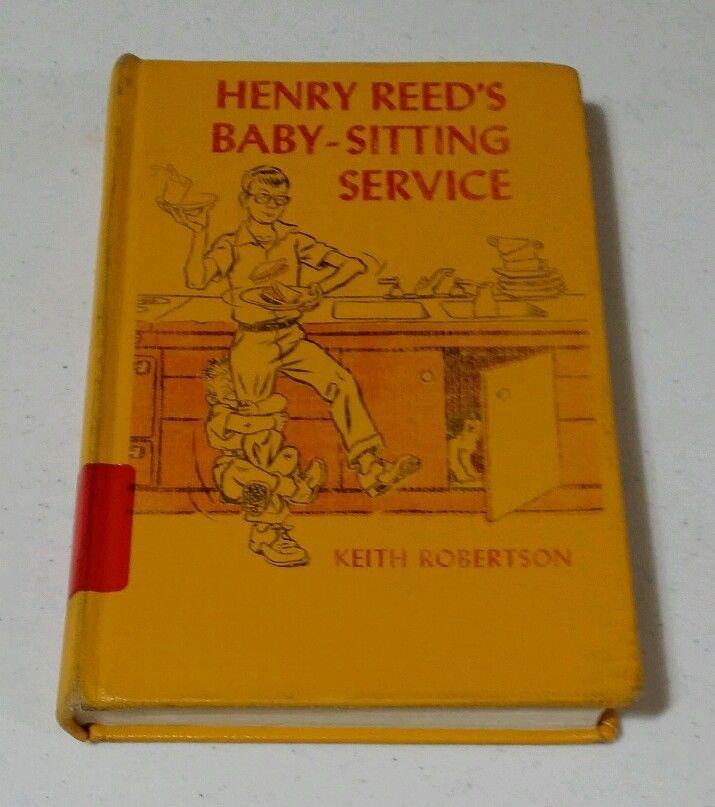 Vintage 1966 HENRY REED'S BABY-SITTING SERVICE  Robertson VIKING HB McCloskey