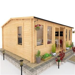 Buy a BillyOh Dorset Log Cabin from Garden Buildings Direct