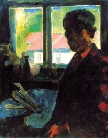 Oszkár Nagy, Self Portrait