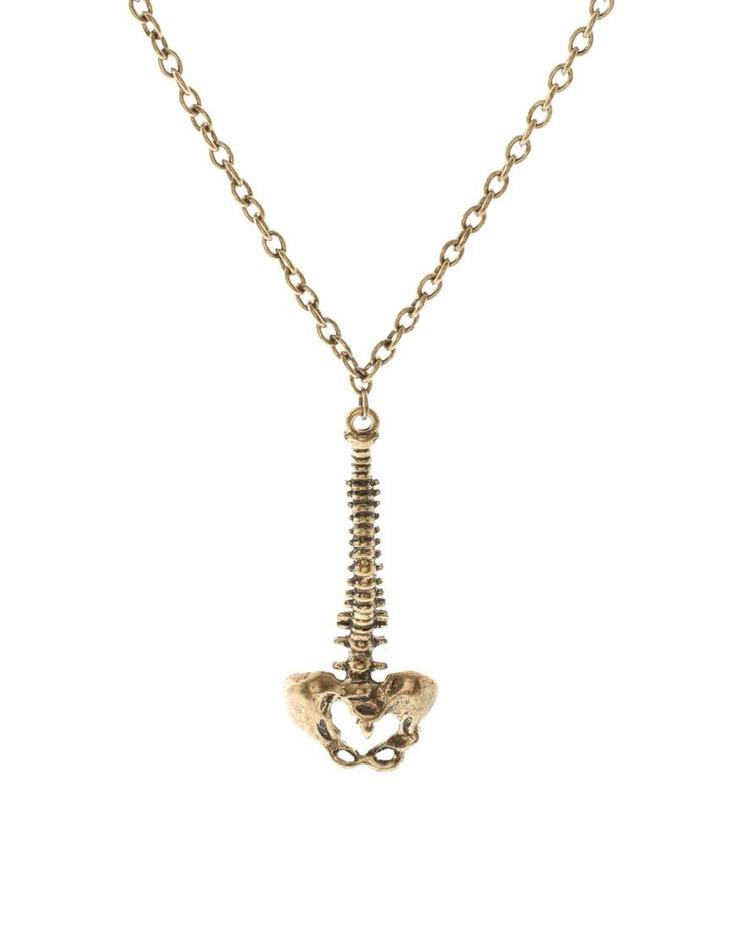 Spine Pendant Neckchain by ASOS