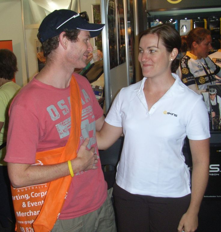 Anna Mears - The best Australian cyclist ever! Health Celebrities with Cameron Corish.