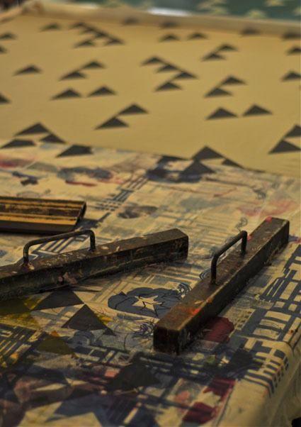 Tamasyn Gambell | Screenprinting weights | www.tamasyngambell.com