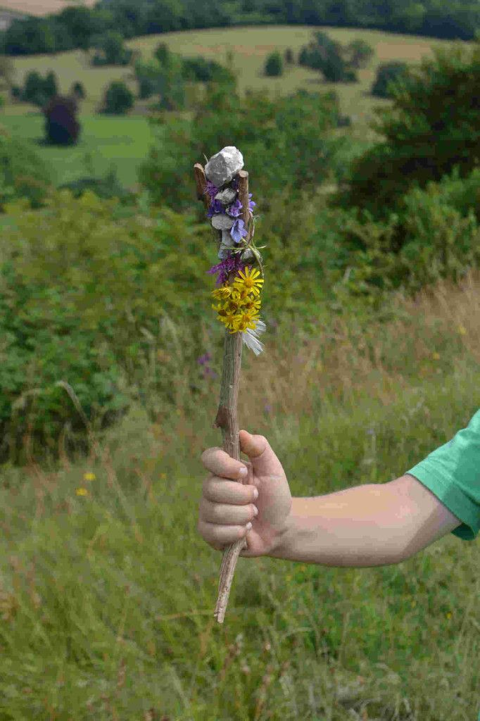 kids make journey sticks  creative way to encourage looking closely at what u0026 39 s around them  from