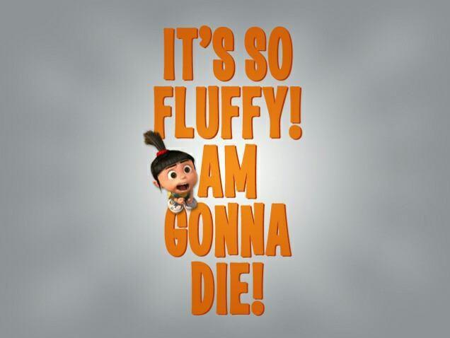 #fluffy #despicable me