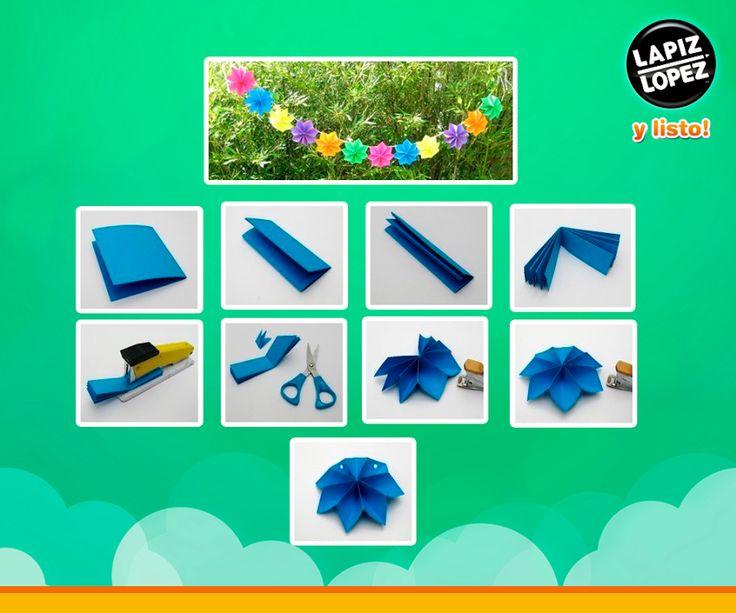 Puedes hacer estas entretenidas y coloridas decoraciones para celebrar alguna ocasión especial.