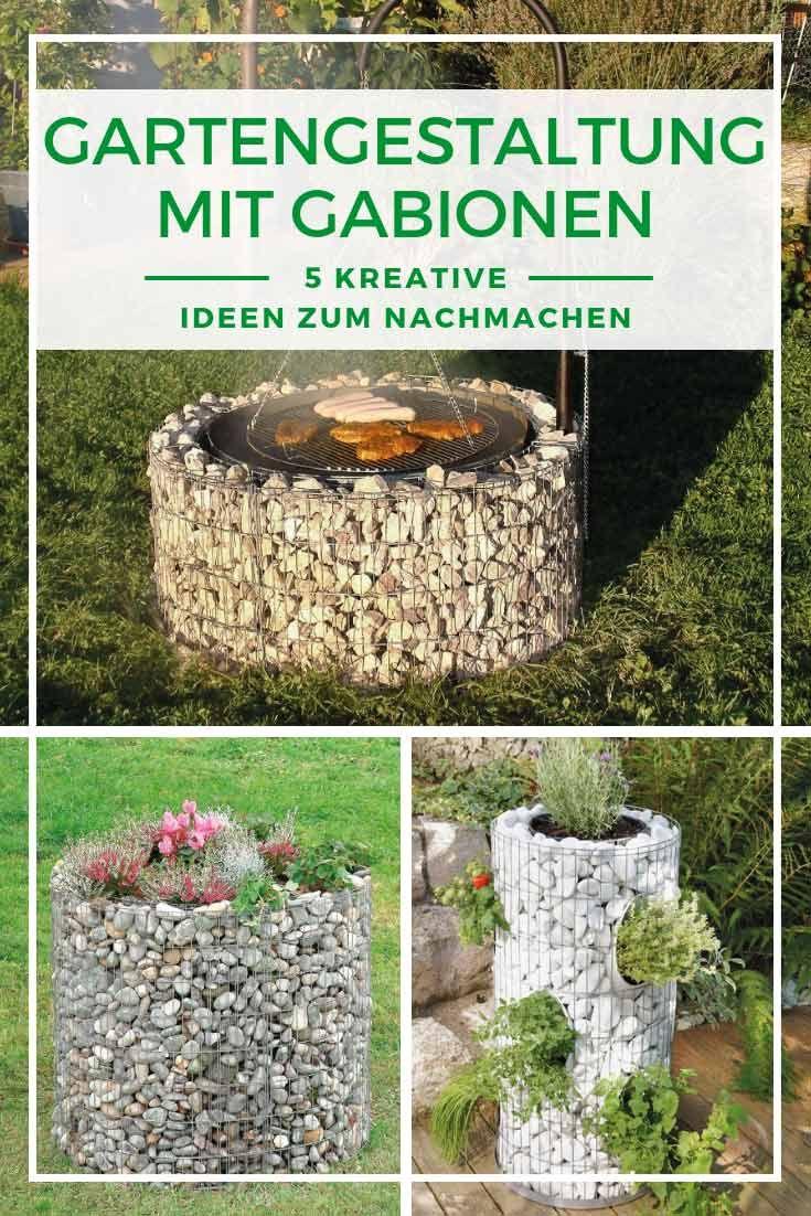Gabionen Gartengestaltung Vielseitige Ideen Mit Gabionen Gabionen