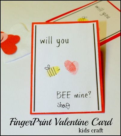 valentine card craft ideas will you quot bee quot mine a kid friendly s day card 5638