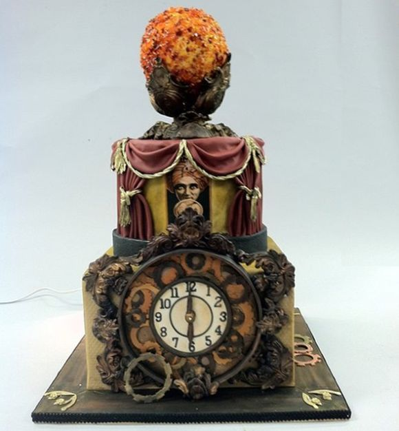 punk rock wedding cakes 75 best steampunk cake images on conch 18844