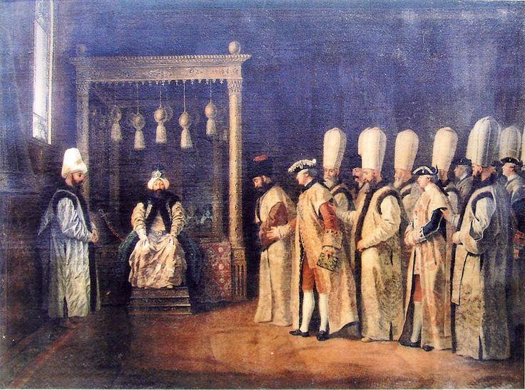 Osmanlı Dönemindeki Elçilerin Listesi