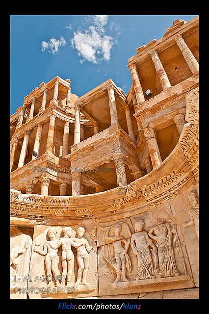 Sabratha , Libya #travel #vacation #rentals www.goldsuites.com