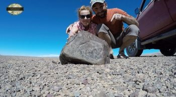 We found the greatest Chilean chondrite!   www.artmet-meteoryty.pl