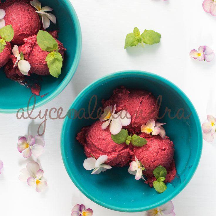 Raspberry Meringue Ice Cream.