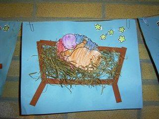 jufjanneke.nl - Kerst Jezus in de Kribbe