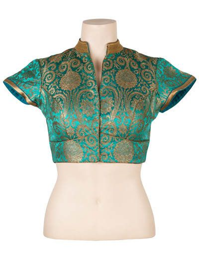 This blouse will go up with any saree you want, because it is made so. . Product code - G3-RB0192 Price - INR 3570/-