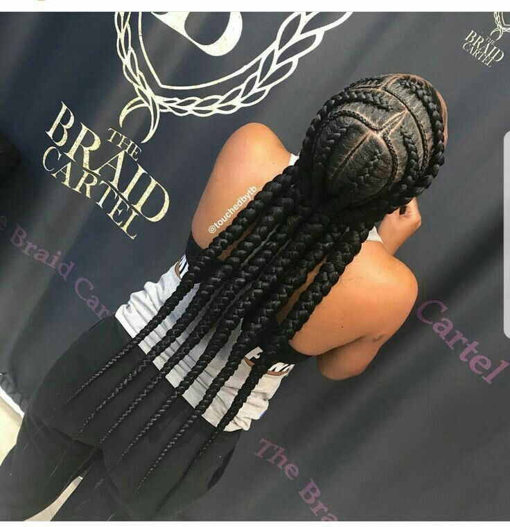 I love braids I have been natural for years and love it.