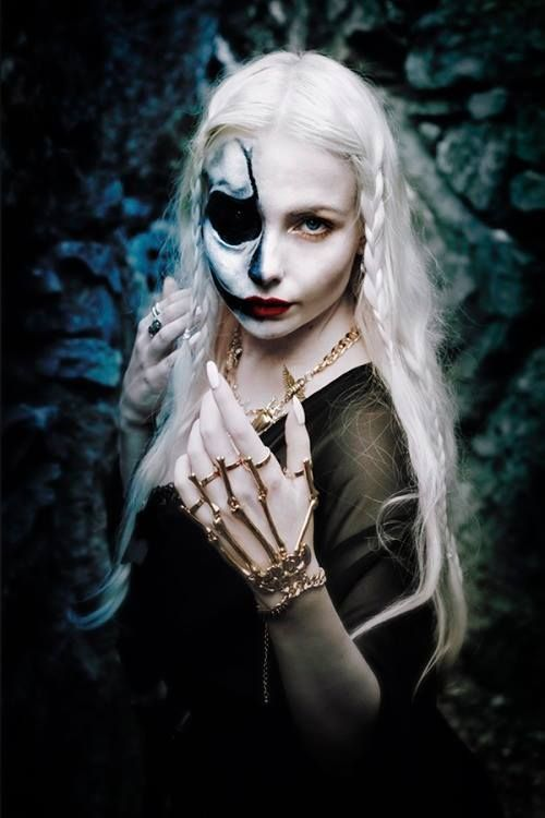 Hel or Hela is the Norse Goddess of death, the underworld, and by extension, rebirth.