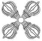 Dordže / dordje / vadžra / hromoklín | Obchod magie - Největší obchod magických, ritualních a esoterických předmětů