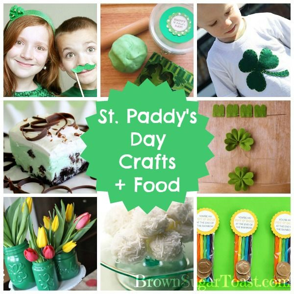 fun ideas for St. Pat's Day!