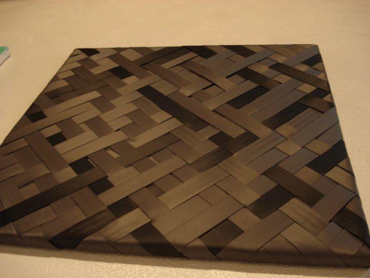Korowai inspired weaving artwork