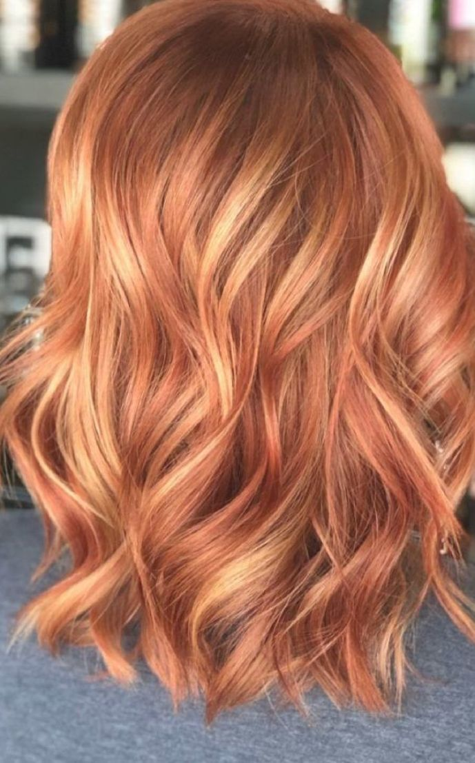 34 Absolutely Stunning Red Hair Color Ideas For Auburn Strawberry Blonde Latest Hair Colors In 2020 Red Blonde Hair Light Red Hair Strawberry Blonde Hair Color