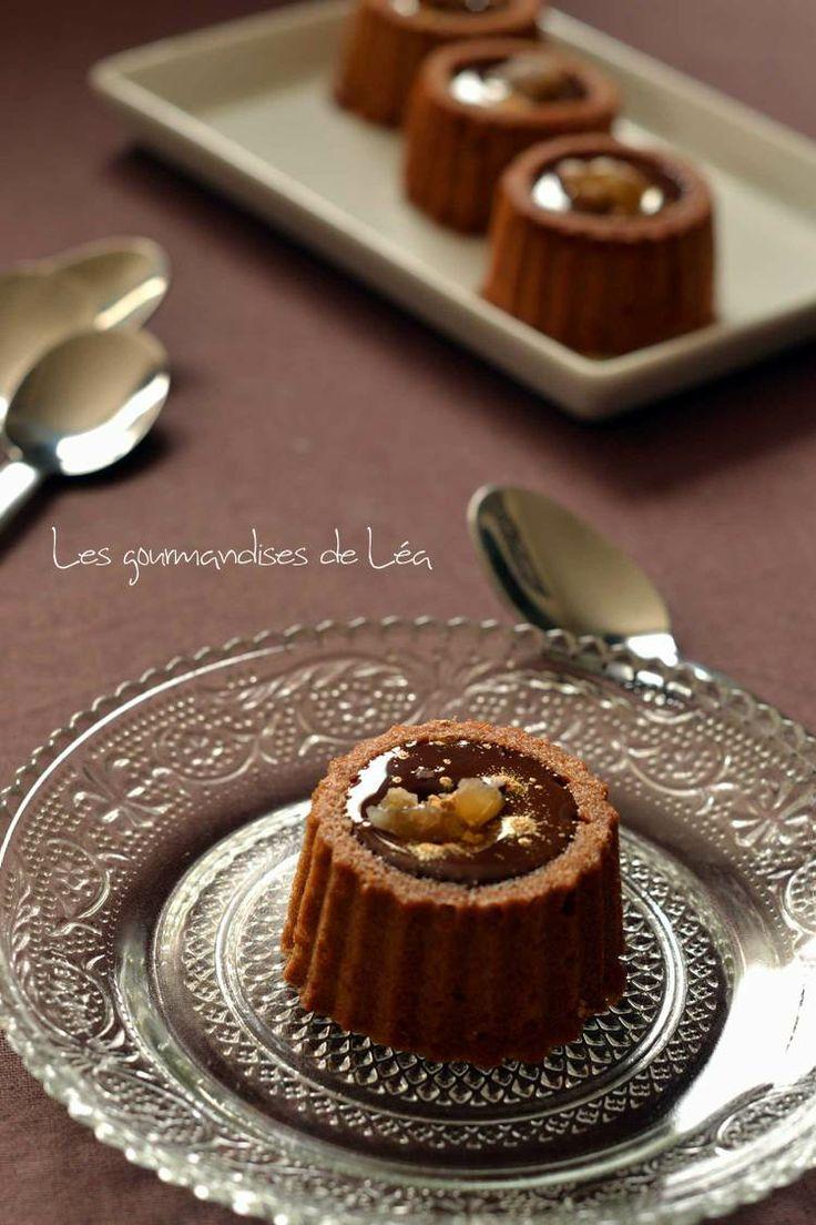 Cake à la crème de marrons et au chocolat