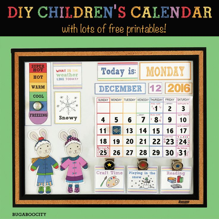 Diy Kids Calendar : Best preschool weather images on pinterest