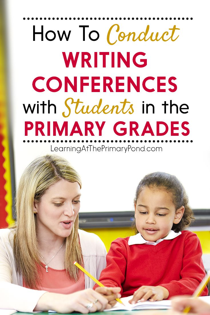 Conducting individual writing conferences with students can REALLY help move them forward. But how do you do it when you have a whole class full of Kindergarten, first, or second grade writers who all need your help at the same time? And what should you do during a conference, anyway? Read this post to find out!
