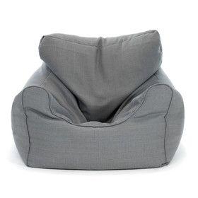 Bean Bag Chair - Grey, Extra Large
