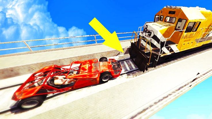 GTA 5 CAN A RAMP CAR FLIP A TRAIN? TREVOR'S REVENGE