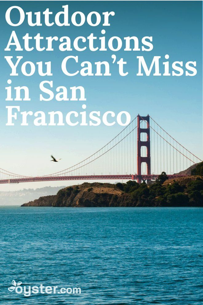 You don't travel to San Francisco to sit indoors. The City by the Bay's charm can only be soaked up by driving down steep Lombard Street, walking along the wooden planks of Fisherman's Wharf, and climbing Russian Hill in a cable car. In other words, you must get outside to experience the best of what the Bay Area has to offer. To help you make the most of your trip, we rounded up 10 of the best outdoor sights.