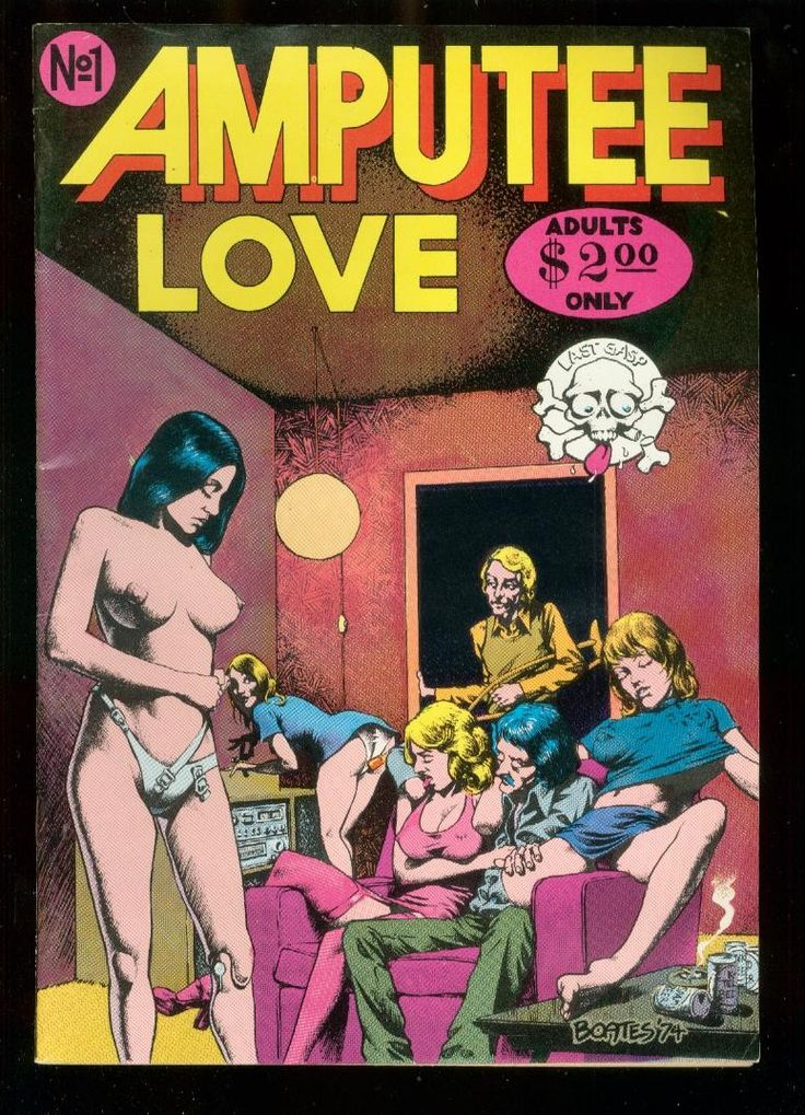 Amputee Love - Underground & Alternative Comics - COMICS