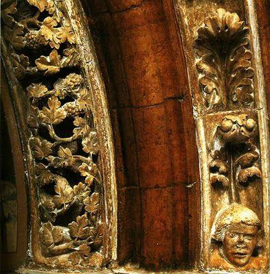 Medieval Hungary: Pannonhalma, Porta Speciosa Detail from the archivolt