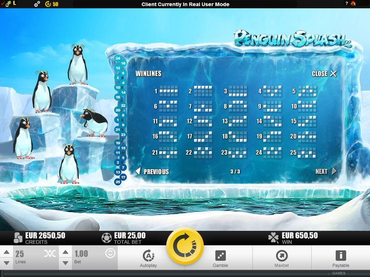 Penguin Splash online slot launches at Euro Palace Casino in May 2015 - visit www.europalace-casino.com for more details.