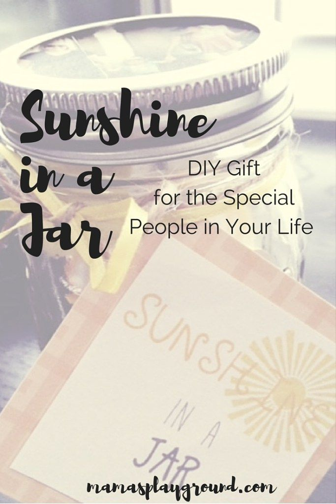 Sunshine in a jar is a gift for just about anyone special in your life. These compliments in the jar will bring many sunny days. Check out the free printable tag that is included.