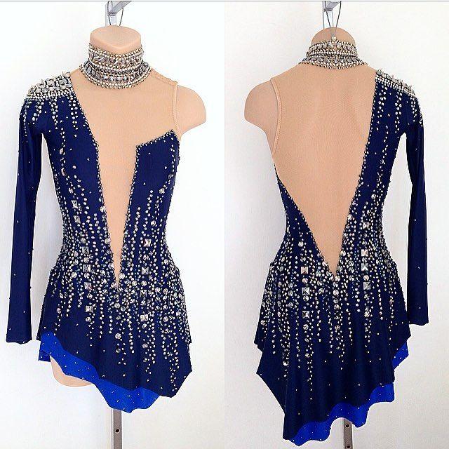 """3,182 Likes, 28 Comments - Lisa McKinnon (@lisamckinnon90210) on Instagram: """"Ashley Wagner's custom made Short Program Dress by Lisa McKinnon!! Slaaaayyyy ⭐ #lisamckinnon…"""""""