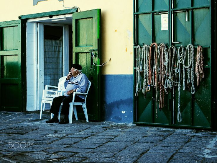 Old Smoking Fisherman by Giovanni Cappiello on 500px